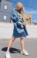 Denim Daze Longline Jacket