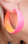 Not Your Average Neon Hoops