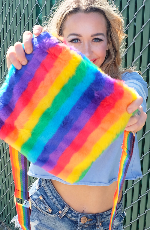 Rainbow Bright Crossbody
