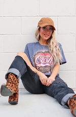 Cash is King Boyfriend Tee