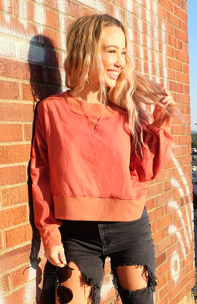 PSL Cropped Pullover