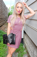 Fruit Stripe Mini Dress