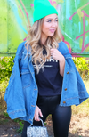 Fit To Be Tied Oversized Denim Jacket
