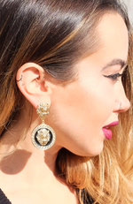 Lioness Drop Earrings