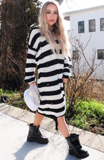 Uncoded Era - City Chic Slouchy Sweater Dress, side view