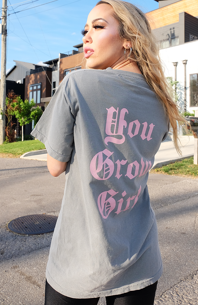 UNAPOLOGETICALLY UNCODED ORIGINAL: You Grow Girl Tee