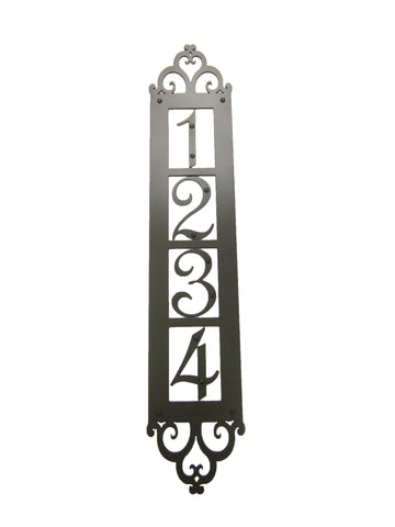 Rancho Hammered Iron Flush Mount Door Pull FMP6
