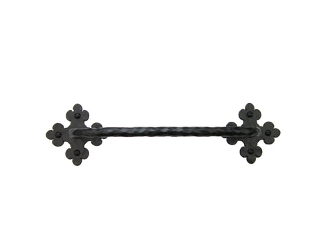 Spanish Club Hammered Iron Ball Toilet Paper Holder BHTP22