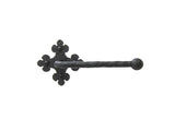 Spanish Club Hammered Iron Ball Toilet Paper Holder BHTP22 - Bushere & Son Iron Studio Inc.