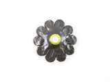 D3 Spanish style mediterranean rosette wrought iron doorbell cover - Bushere & Son Iron Studio Inc.