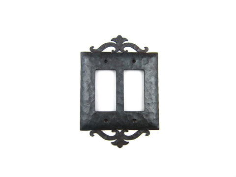 Rustic Rancho Iron Switch Plate Cover Single Toggle EPH4
