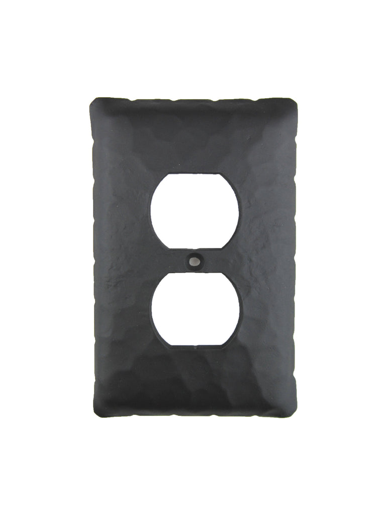 EPH41 Rustic Rancho Style Iron Switch Plate Cover Single Duplex