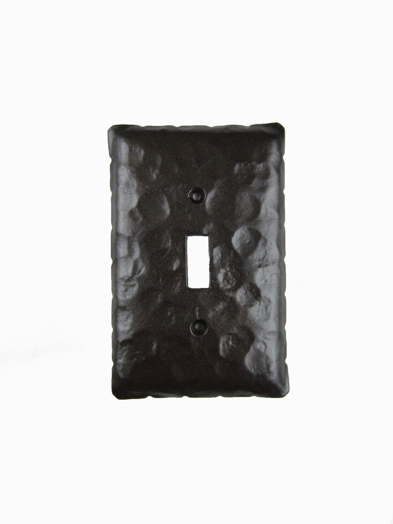 EPH4 Rustic Rancho Style Iron Switch Plate Cover Single Toggle