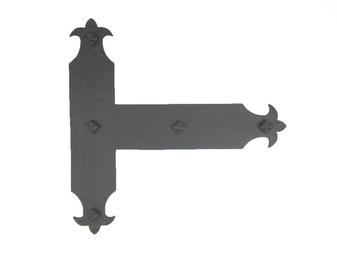 "Farmhouse Wrought Iron 18"" Barn Door Handle HPD18"
