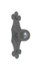 HK17 Spanish Club Rustic Iron Cabinet Knob - Bushere & Son Iron Studio Inc.