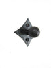 HK4 Rustic Diamond Back Cabinet Knob - Bushere & Son Iron Studio Inc.