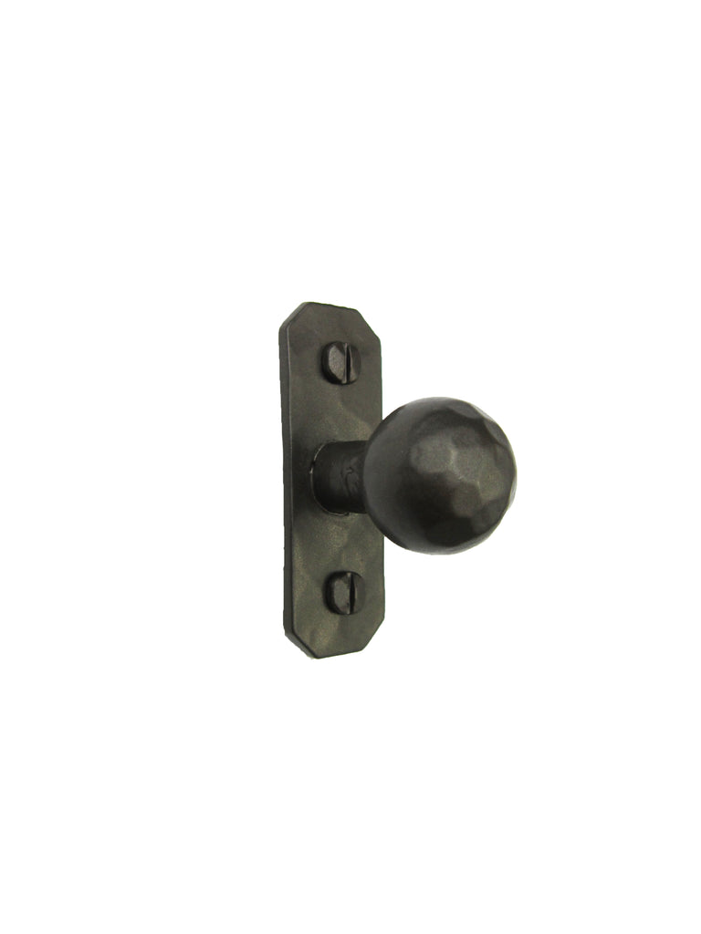 Simple Rustic Iron Cabinet Knob HK9 - Bushere & Son Iron Studio Inc.