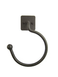 Classic Farmhouse Iron Towel Ring SBHR11 - Bushere & Son Iron Studio Inc.