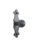 SHK17 Spanish club iron cabinet knob slim smooth
