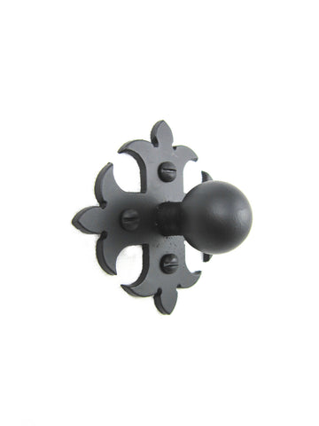 SHK20 Spanish style club cross iron cabinet knob smooth