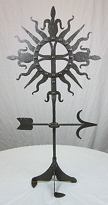 Forged wrought iron dragon fire tool set