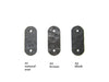 GHT series Rustic hammered Spanish style T brackets door hardware  beam hardware - Bushere & Son Iron Studio Inc.