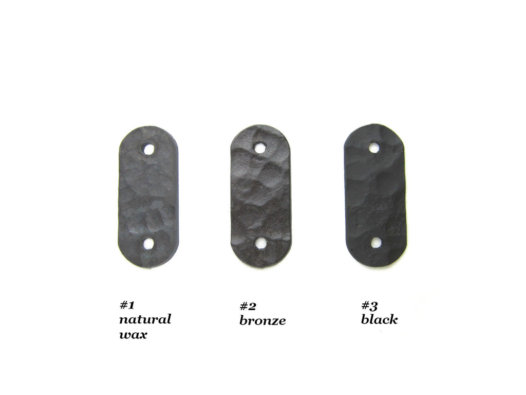 GHP series Rustic hammered Spanish style brackets door pulls