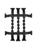 Spanish Twist Wrought Iron Speakeasy Grille SEG1