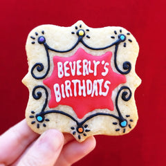 Beverly's Birthdays Cookie