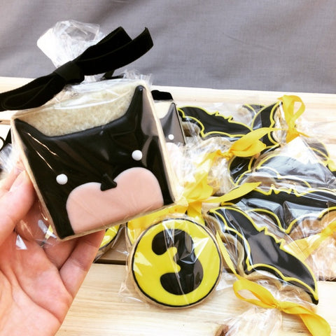 Batman Custom Cookies