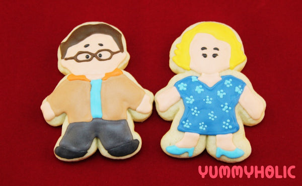Leonard and Penny Cookies