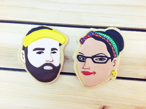 Liana and Selecta Portrait Cookies