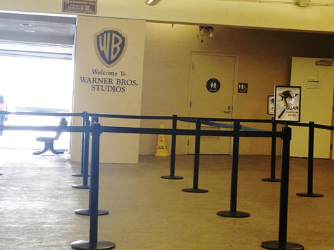 Warner Bros Studios Parking Lot