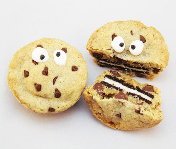 Chocolate Chip Oreo Monster Cookie