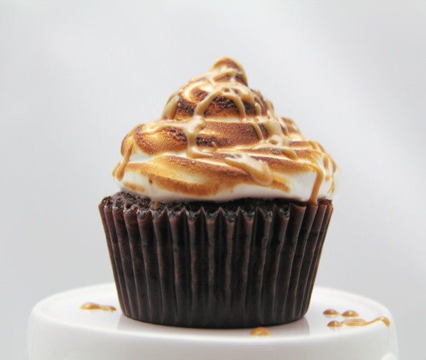 PB S'mores Specialty Cupcake