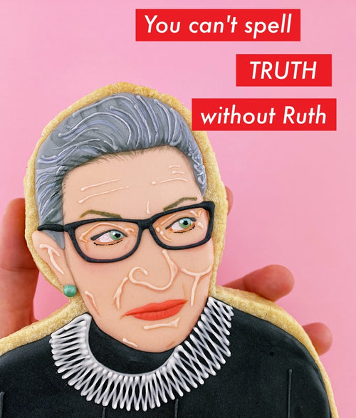 RBG Cookie Art Postcard - Limited Edition