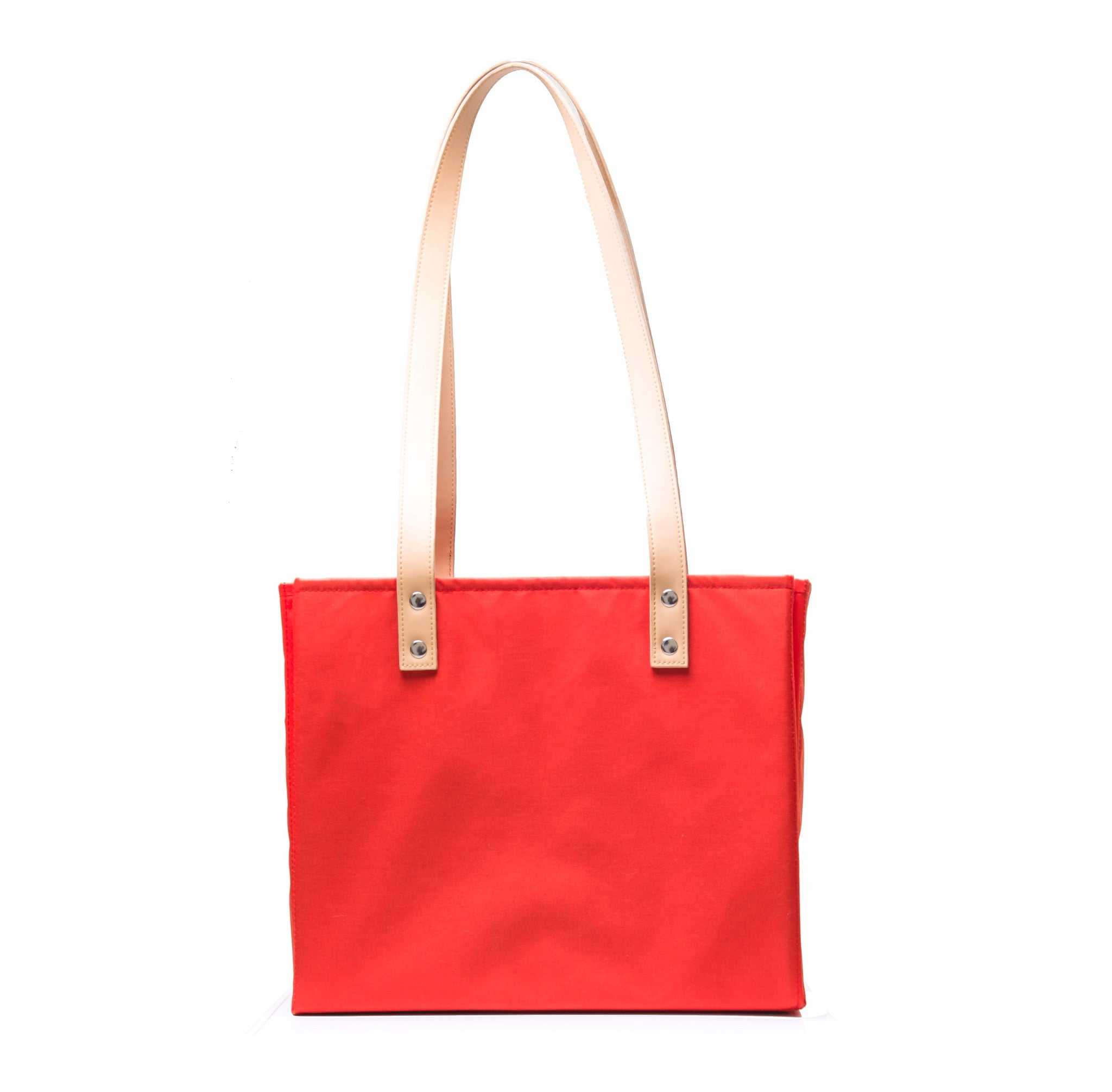 BUTTERFLY TOTE - CORAL