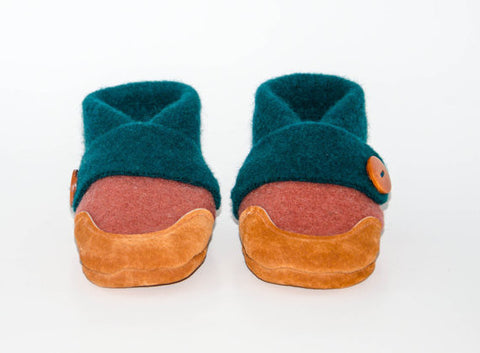 Kids Cashmere Slippers, Children Soft Cashmere Shoes, Eco-friendly Toddler Slipper Socks, Kids Winter Shoes:Size Kids 7.0 -Youth 2.5