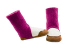 Cashmere High top slippers