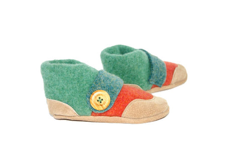 Recycled Wool Slippers