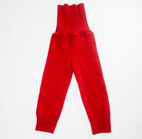 Children Cashmere Leg Warmers, Kids Red Cashmere Tights, Boy & Girl Cashmere Longies, Kids Thigh High Tights, Chest and Tummy Warmer.