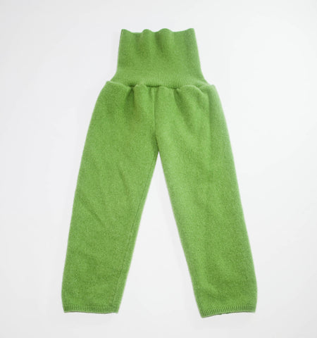 Children Cashmere Leg Warmers, Green Kids Cashmere Tights, Boy & Girl Cashmere Longies, Kids Thigh High Tights, Chest and Tummy Warmer.