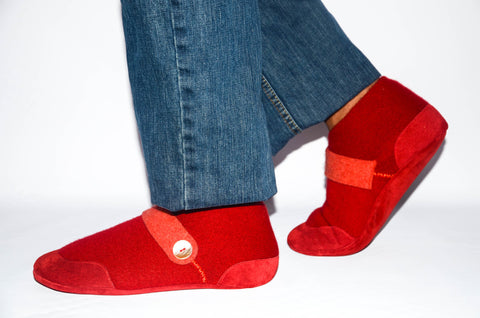 Unisex Cashmere Shoes from Recycled Materials, Eco-friendly Men & Women Valentines Cashmere Shoes. Size:USA Adults 6.5 -16