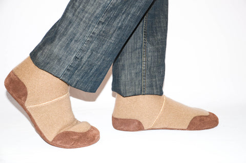 Unisex Cashmere Slippers from Recycled Materials