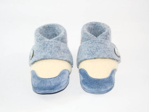 Kids Shoes, Toddler Slippers, from Recycled Wool & Non Slip Suede Leather, kids size 7.0 - 11.5.  Let's Play!