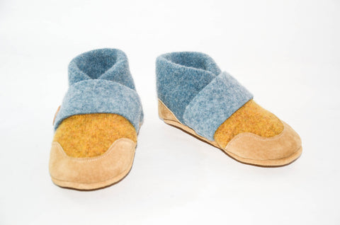 Baby Soft Wool Shoes, Wool Baby Slippers, Eco-Friendly