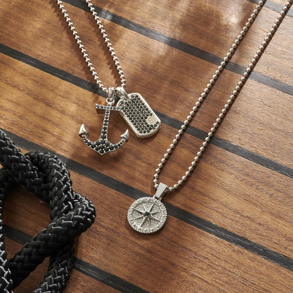 Nautical Jewelry Summer Trends - The Comeback of Anchor Bracelets, Compass Necklaces and More