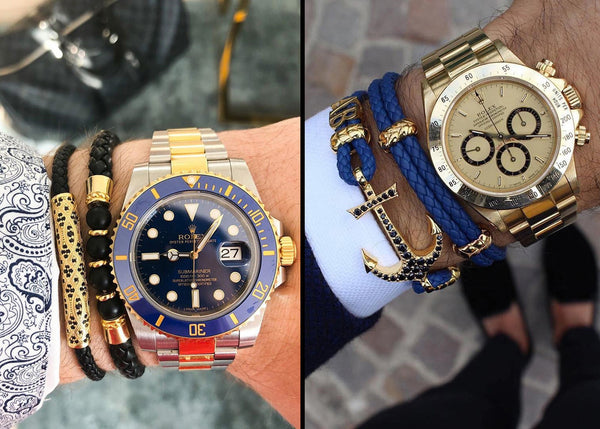 Bracelets with Watches Style Guide - How to Combine Them to Look Stylish