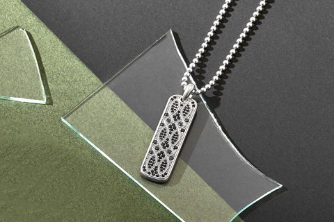 Streamline Tag Necklace (Pendant Only)