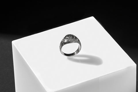 Oval Classic Ring - Silver
